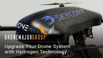 hydrogen fuel cell system with skycorp e-drone zero image