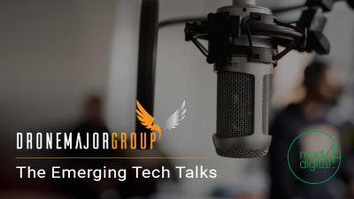 future of drone technology featured on the emerging tech talks episode with Mad4Digital
