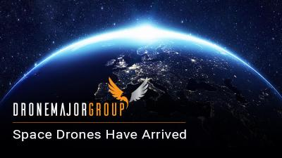 zero gravity drones able to transmit information from space to earth quickly, safely