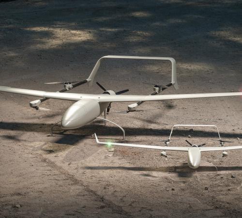 ALTI UAV Reach fixed wing VTOL